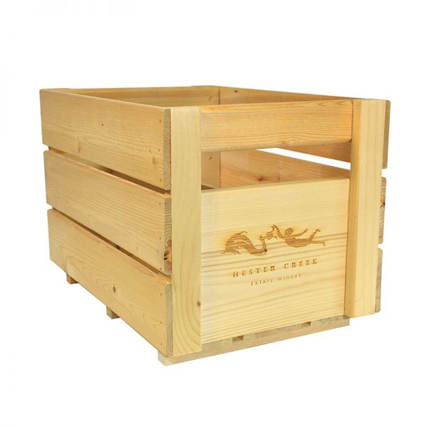 Custom Wine Crate